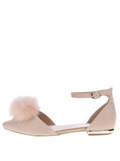 Růžové sandálky v semišové úpravě Miss KG Goldie