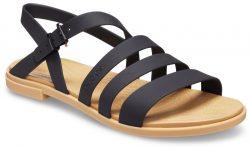 Crocs černé páskové sandály Tulum Sandal