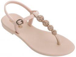 Grendha pudrové sandály Cacau Sandal Light Pink