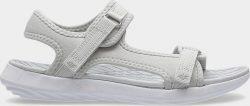 Dámské sandály 4F SAD201  Šedá