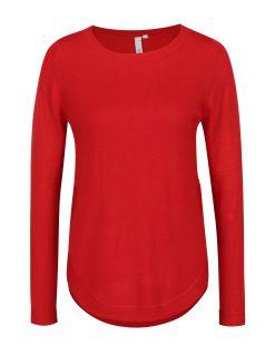 Červený dámský svetr s.Oliver