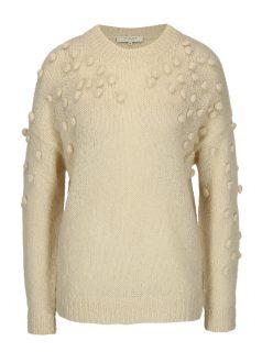 Béžový svetr s příměsí mohéru Selected Femme Nora