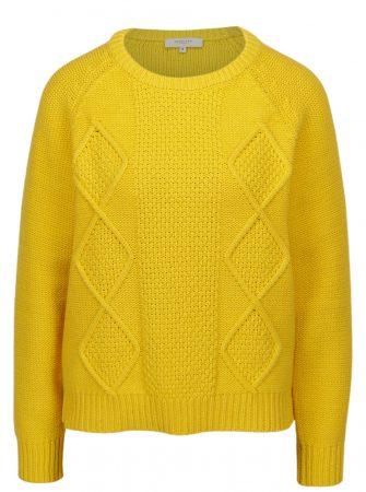 Žlutý svetr Selected Femme Kasia - Dámské svetry 43cf8f6789