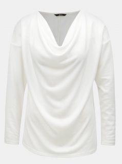 Bílý svetr s dlouhým rukávem ONLY Elcos