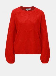 Červený svetr ONLY Felina