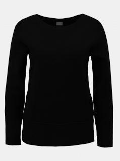 Černý svetr s dlouhým rukávem VILA Livina