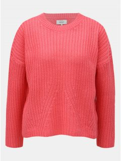 Růžový volný svetr ONLY Nicoya