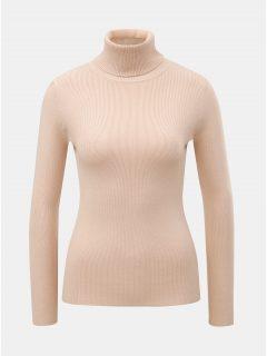 Světle růžový svetr s rolákem ZOOT