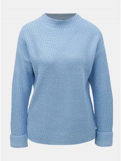 Světle modrý svetr se stojáčkem Dorothy Perkins