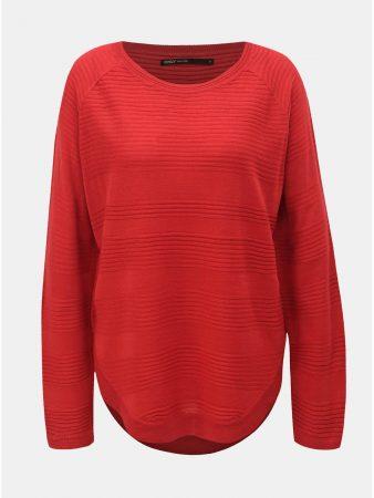 c12cbb9e5c1 Červený lehký svetr ONLY Caviar - Dámské svetry