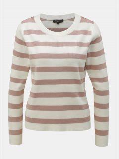 Růžovo-bíly pruhovaný svetr Selected Femme Falina
