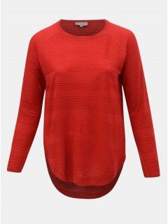 Červený svetr ONLY CARMAKOMA Plain