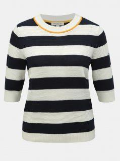Bílo-modrý pruhovaný svetr Selected Femme Milano