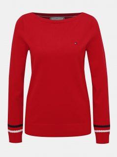 Červený dámský svetr Tommy Hilfiger New Ivy