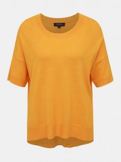 Oranžový top Selected Femme Wille