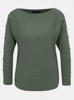 Khaki svetr M&Co Petite