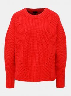 Červený svetr Selected Femme Mira