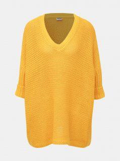 Žlutý volný svetr Noisy May Vera