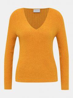 Oranžový svetr VILA Katay