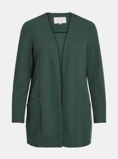 Tmavě zelený kardigan VILA