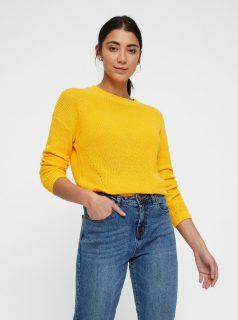 Žlutý svetr Noisy May Sian