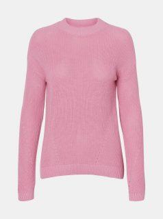 Růžový svetr Noisy May Sian