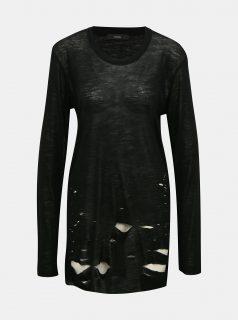 Černý dámský vlněný svetr Diesel