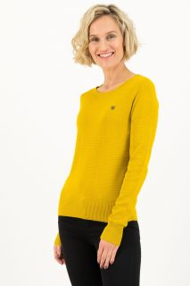 Blutsgeschwister žlutý svetr Suited in Yellow