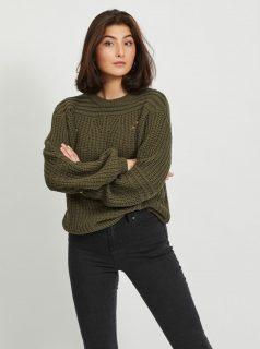 Khaki svetr .OBJECT