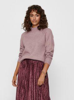 Starorůžový svetr Jacqueline de Yong