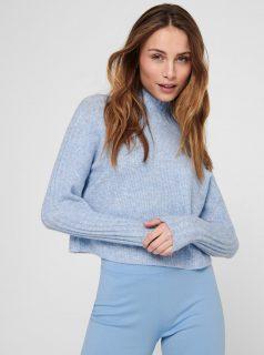 Světle modrý svetr Jacqueline de Yong Kim