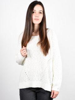Element FAREWELL IVORY svetr dámský – bílá