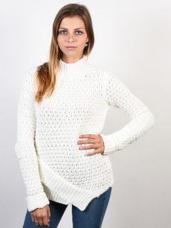 Element BURN IVORY svetr dámský – bílá