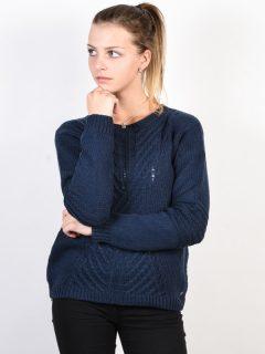 Roxy GLIMPSE OF ROMANCE DRESS BLUES svetr dámský – modrá
