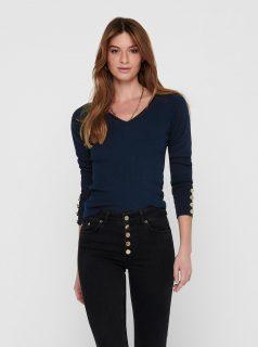 Tmavě modrý svetr Jacqueline de Yong Plum