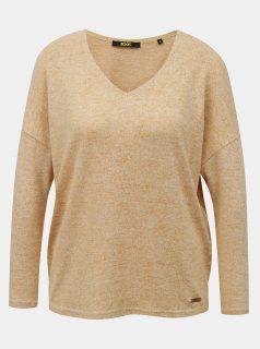 Světle hnědý dámský svetr ZOOT Baseline Adelaide