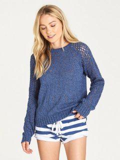Element ALL LOVE blueberry svetr dámský – modrá