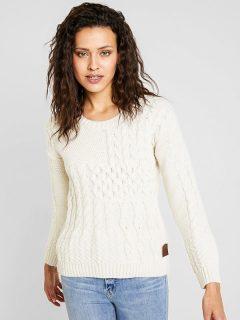 Element ACHILLE NATURAL svetr dámský – bílá