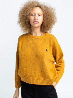Element SLOWLY OLD GOLD svetr dámský – žlutá