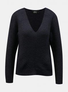 Tmavě modrý svetr ONLY -Jada