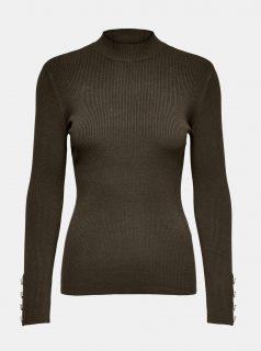 Hnědý svetr Jacqueline de Yong-Plum