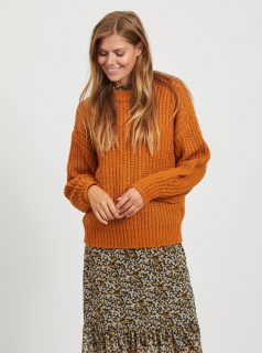 Oranžový svetr VILA-Suba
