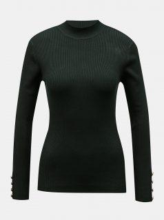 Tmavě zelený svetr Jacqueline de Yong-Plum