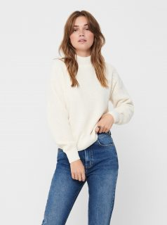 Krémový svetr ONLY-Coya