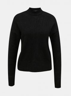 Černý svetr se stojáčkem VERO MODA-New Luci
