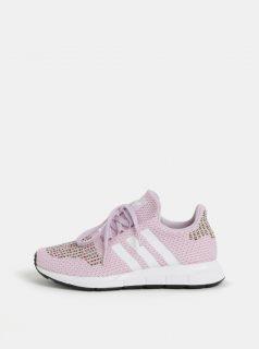Růžové dámské tenisky adidas Originals Swift Run