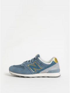 Světle modré dámské semišové tenisky New Balance