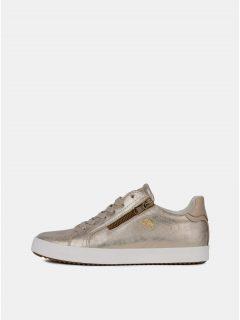 Metalické dámské tenisky ve zlaté barvě Geox Blomiee