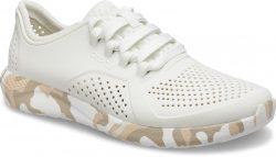 Dámské smetanově bílé tenisky Crocs