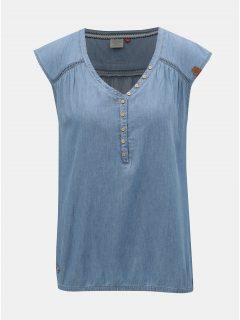 Modrý top Ragwear Salty Denim
